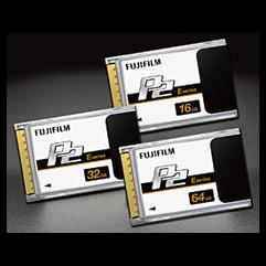 P2 Memory Cards
