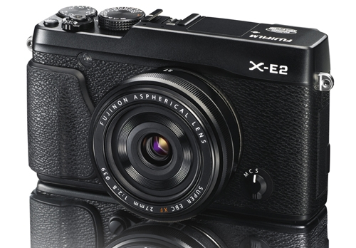 X-E2_Black_Front_Left_27mmBlack