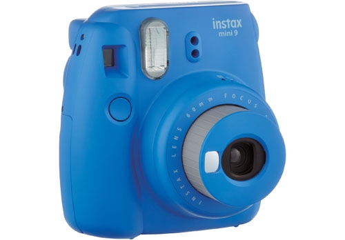 INSTAX MINI9 Front Profile Cobalt blue