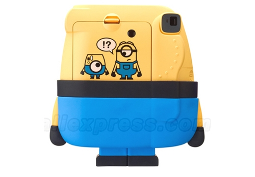 INSTAX MINION BACK