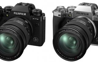 הכרזה על מצלמה חדשה X-T4