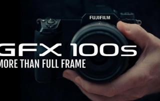מצלמת פוג'יפילם GFX100S לא רק FULL FRAME