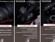 השקה 5 מוצרים חדשים של FUJIFILM